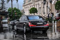 Mercedes Maybach spotted in Monaco, Monaco