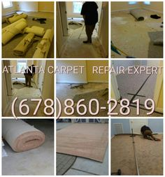 #Atlanta carpet repair expert install #1