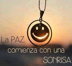 Con una sonrisa :)