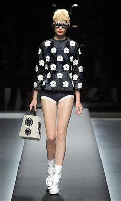 Muchas flores by Prada en la Semana de la Moda de Milán