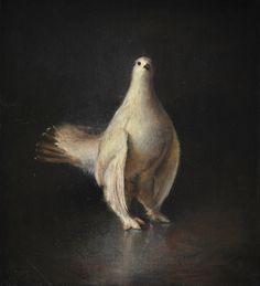 White Grouse  #kitschpainting #classical #baroque #kitsch #oilpainting #grecoroman #arte #darkart #art #notart #contemporarypainting