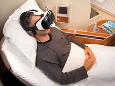 The latest in-flight entertainment: Virtual reality headsets via @USATODAY