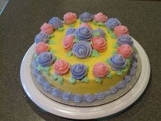 """In search of our missing """"K"""": Cake Decorating Class - Course 1 (Decorating Basics)"""