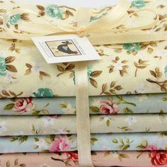 "Kit de tecidos ""Shabby Chic"" :: Country Craft Studio Patchwork"