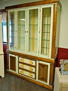 sunbrella china cabinet