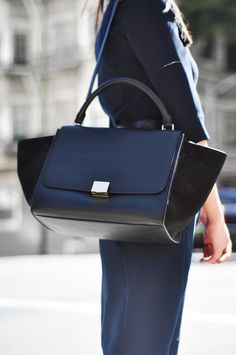 234c61f6c0 I am obsessed with the Celine Trapeze and Mini Luggage handbags. These both  are so amazingly chic and the color combos are so gorgeous.