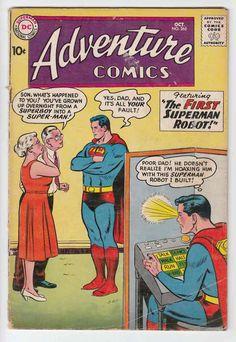 adventure comics superboy - Google Search