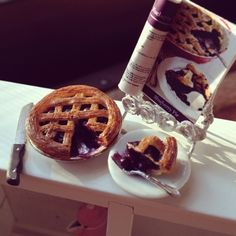 Blueberry pie #MilkEveryMoment