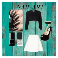 """""""Untitled #29"""" by perla-s-duenas-gonzalez on Polyvore featuring Chanel, SHADE Collection, Jeremy Scott, Neil Barrett and Prada"""