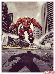 Marvel's 'Avengers: Age of Ultron' artwork by Chris Skinner | HERO COMPLEX GALLERY