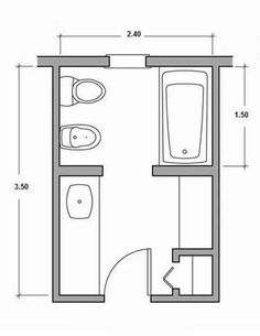 Very Small Bathroom Layouts | bathroom-layout-12 bottom left is the ...