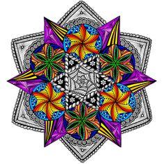 Bright Lights Mandala