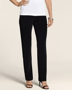 Travelers Classic Essential Slim Pant: For dressy occasions, wrinkle-free lightweight travel pants from companies like Chico are a good bet.
