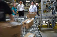 Obama visiting Amazon's Chattanooga distribution center