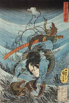 浮世绘大师 歌川国芳 Utagawa Kuniyoshi