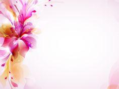Colorful Design Floral Vector Illustration PPT Template ...
