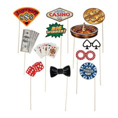 Put your casino party where it belongs - Las Vegas! The perfect addition to your Vegas themed party supplies, this Viva Las Vegas Backdrop Banner is a . Casino Party Decorations, Casino Theme Parties, Casino Themed Centerpieces, Party Events, Decoration Party, Casino Royale, Invitation Game, Casino Night Party, Nye Party