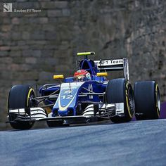 #Repost @sauberf1team  YAY! Finally a car in Q2 again great lap by @FelipeNasr (P16)!  Ericsson_Marcus struggled with traffic and didn't make it it's P20 for him.  Our official report will follow later. Meanwhile check out the cool 360 images from Baku on our website!  #SauberF1Team #JoinOurPassion #Racing #F1 #EuropeGP #Formula1 #FormulaOne #motorsport
