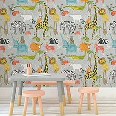 A wide range of Wallpaper available to buy today at Dunelm, the UK's largest homewares and soft furnishings store. Order now for a fast home delivery or reserve in store. Boy And Girl Shared Bedroom, Boy Toddler Bedroom, Kids Bedroom, Kids Rooms, Toddler Girl, Toddler Bedroom Wallpaper, Kids Room Wallpaper, Childrens Bedroom Wallpaper, Wallpaper Uk