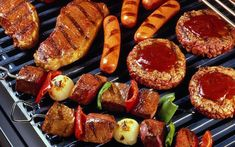 Image detail for -Home > Sexy > Delicious Food wallpaper V > Classic BBQ wallpaper Grilling Tips, Grilling Recipes, Cooking Recipes, Healthy Recipes, Wing Recipes, Greek Recipes, Korean Bbq Wings Recipe, Bbq Catering, Greek Dishes