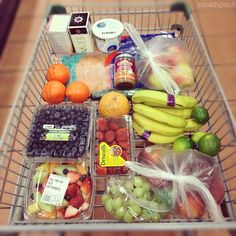 One Month Clean Eating Challenge Healthy Grocery List {Week 3}