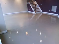 Basement epoxy floor Design Ideas, Pictures, Remodel and Decor