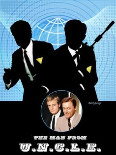 The Man From Uncle Collage by jackiejr #themanfromuncle