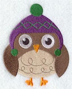 Machine Embroidery Designs at Embroidery Library! - Animals in Winter