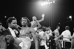 Tommy Hearns after the 'War' with Hagler