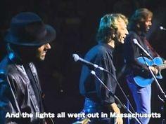 ビージーズ BEE GEES - マサチューセッツ MASSACHUSETTS (LIVE 1989) - YouTube