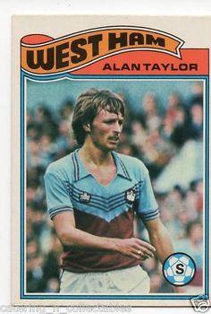 Alan Taylor West ham - 1970s football card