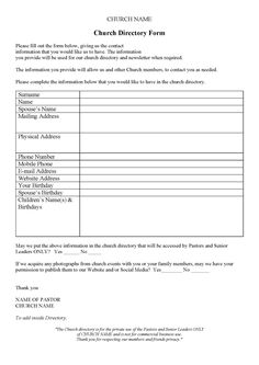 Pathway Church Newsletter Template | page 1 | Church ideas ...