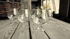 Vintage Cognac Glasses - Set of 6 - Luminarc Stemmed Glasses - Brandy Glasses - Made in France - Liquor Glassware - French Barware