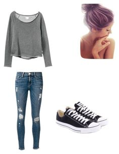 """Lazy day outfit for school"" by savhannhasanchez on Polyvore"