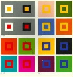 Johannes Itten, Bauhaus, The Art of Color, 1986 French Edition Bauhaus Colors, Johannes Itten, Color Patterns, Color Schemes, Color Psychology, Psychology Studies, Principles Of Design, Walter Gropius, Guache