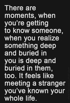 A stranger you've known your whole life...