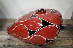 SHALLOW BLOG: 塗装済みピーナッツタンク 赤