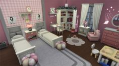 The Sims 4 Parenthood Gallery Spotlight: Rooms << Sims Community Sims 4 House Plans, Sims 4 House Building, Casas The Sims Freeplay, Sims 4 Bedroom, Sims Free Play, Tiny House Exterior, Sims 4 House Design, Casas The Sims 4, Sims 4 Characters
