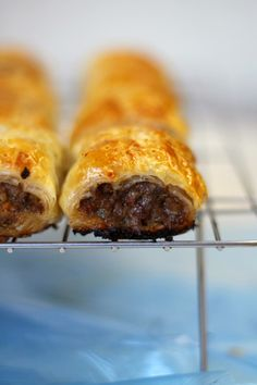 Lick The Spoon: Traditional Home Made Sausage Rolls