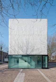 Built by Atelier Kempe Thill in Amsterdam, The Netherlands with date 2011. Images by Ulrich Schwarz. In the garden city   Osdorp grew during the extension of the city of Amsterdam after the Second World War on the basi...