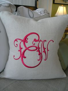 Love this  monogram