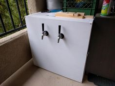 Click this image to show the full-size version. Used Mini Fridge, Small Mini Fridge, All Grain Brewing, Nitro Cold Brew, Home Brewing, Flashlight, Image, Home Brewing Beer