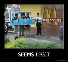 Hilarious seems legit pictures... take a peek
