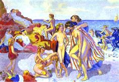 Bacchus and Ariadne by Maurice Denis