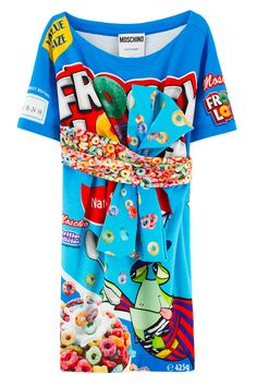 MOSCHINO CEREAL T-SHIRT DRESS