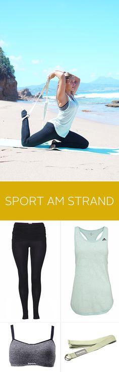 Ommmmmm... Was gibt es schöneres als Yoga am Strand? Bloggerin RoxisEcke zeigt euch ihren Lieblings-Look fürs Yoga.