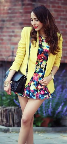 d1294d1126e0 Steal the look with www.TsAccessories2You.com Yellow Blazer