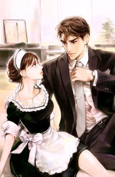 Crazy illustrations of you only 2 ~ 11 Romantic Anime Couples, Fantasy Couples, Cute Couples, Manga Couple, Anime Love Couple, Anime Couples Drawings, Anime Couples Manga, Anime Cosplay, Cute Anime Coupes