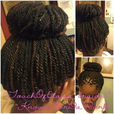 Crochet Braids Too Thick : ... Pinterest Yarn twist, Yarn braids and Protective styles View Image