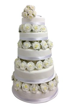 Una boda victoriana inspirada en Downton Abbey: tarta